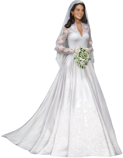 White Bride Png PNG Images