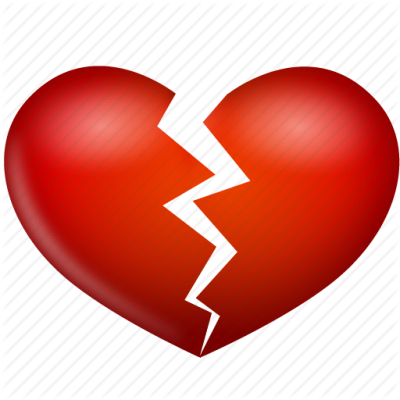 Broken Heart Background Transparent PNG Images