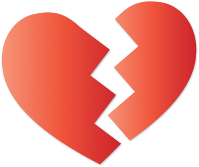 Broken Heart Free Download 13 PNG Images