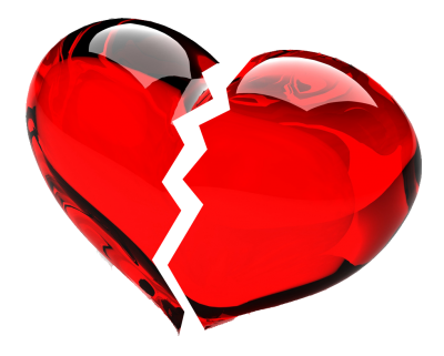 Clipart Broken Heart File PNG