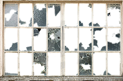 Old Broken Window Png
