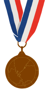 Bronze Medal Colors Png