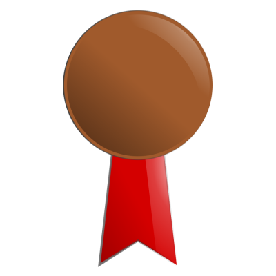 Bronze Medal Png Clipart Photo