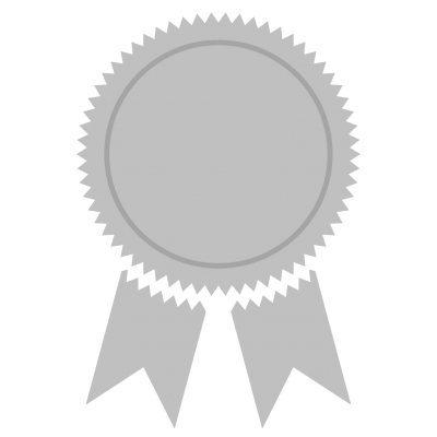 Grey Bronze Medal Png