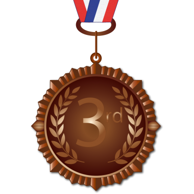 National Bronze Medal Png Transparent