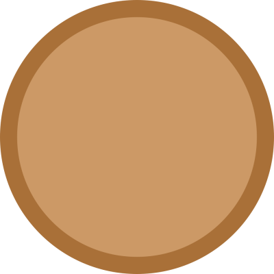 Simple Bronze Medal Png