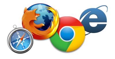 Safari, Mozilla, Chrome, Internet Explorer Logo Clipart Transparent