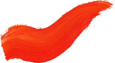 Red Wavy Paint Brush Stroke Png Transparent PNG Images