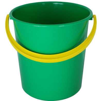 Green Bucket Free Transparent Png