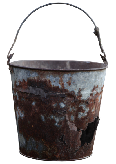 Bucket Rusty Free PNG PNG Images