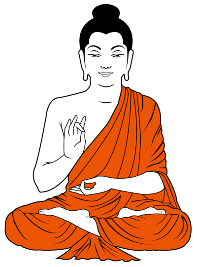 Buddha Icon Clipart PNG Images