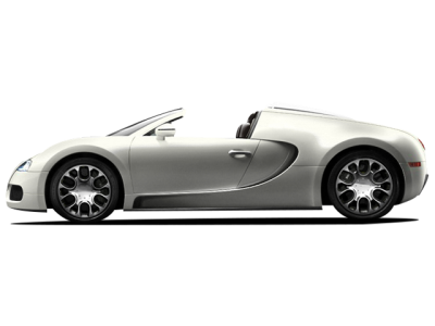White Bugatti PNG Picture PNG Images