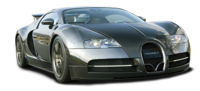 Bugatti Black Car Transparent Picture PNG Images