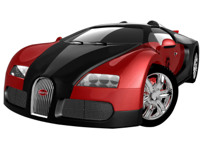 Red Sports Bugatti PNG PNG Images