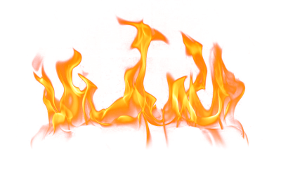 Burn Transparent Picture