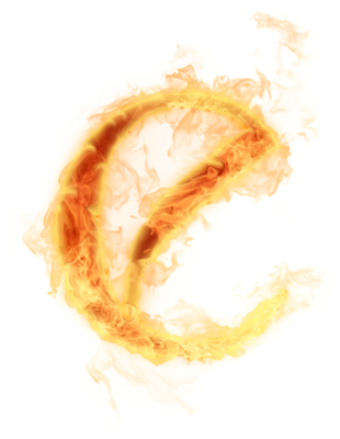 Burn Transparent Background