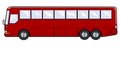 Bus Red HD Image PNG Images