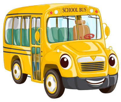 Cartoon Bus Best Png PNG Images