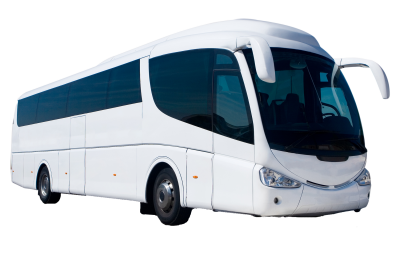 White Bus Transparent PNG Images