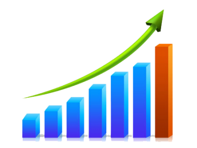 Business Growth Chart Png Transparent Images