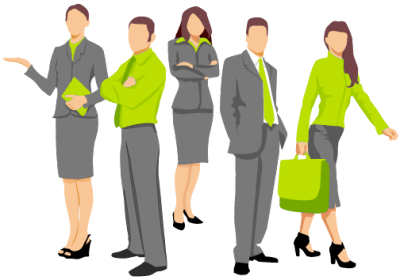 Business People High Quality Clipart PNG Images