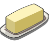 Butter Icon Png PNG Images