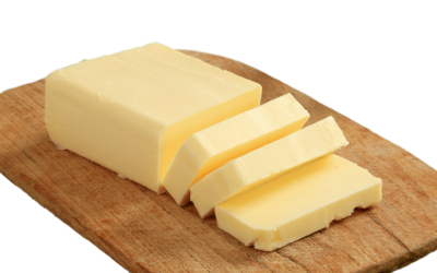 Butter On Wooden Plank Transparent Png PNG Images