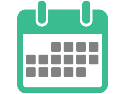 Green Calendar Vector Icon Png