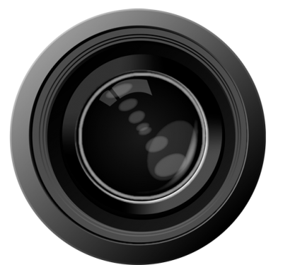 Icon Clipart Camera Lens