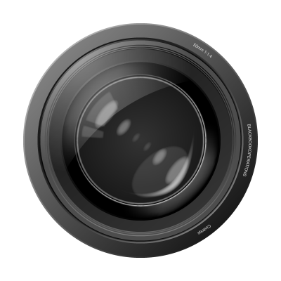 Transparent Camera Lens Clipart