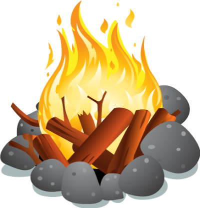 Campfire Cut Out PNG Images