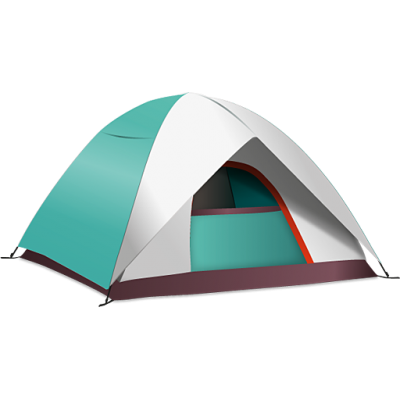 Campsite, Camp, Tent Vector PNG Images