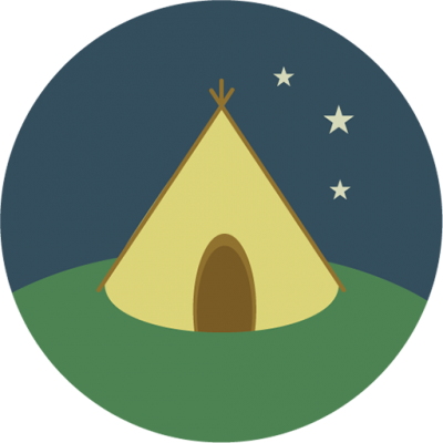 Campsite Night Transparent Picture PNG Images