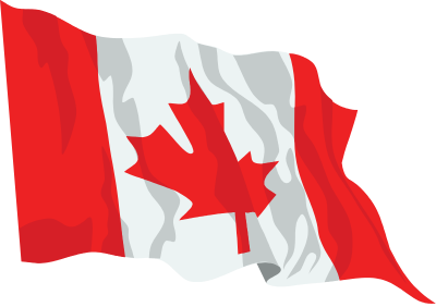Canada Flag Waving Icon Png