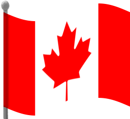 Canada Flag Waving Png PNG Images