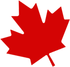 Red Canada Maple Leaf Png Transparent