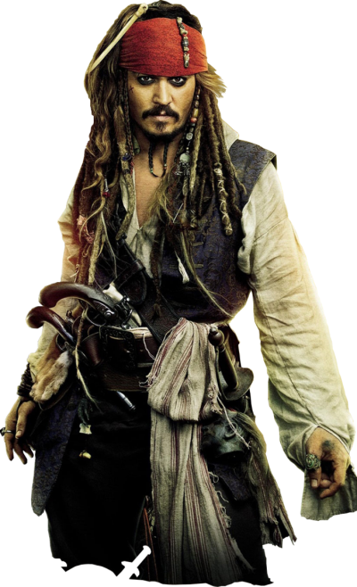 Captain Jack Sparrow Pirates Of The Caribbean Png