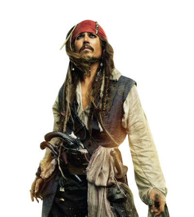 Captain Jack Sparrow Png Pictures