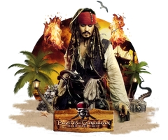 Cranked Spine Sig Captain Jack Sparrow Png