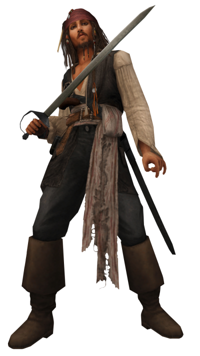 Kingdom Hearts Insider Captain Jack Sparrow Png