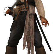Metal Captain Jack Sparrow Png