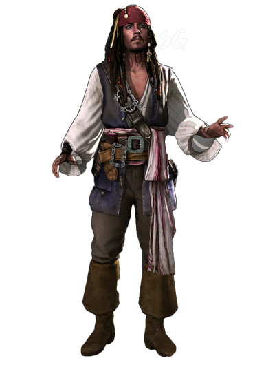 Pirates Of Caribbean Captain Jack Sparrow Png