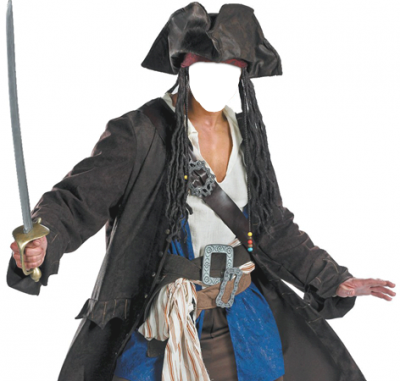 Sword And Captain Jack Sparrow Png