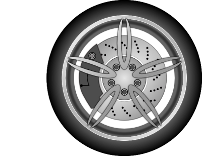 Car Wheel Free Cut Out PNG Images