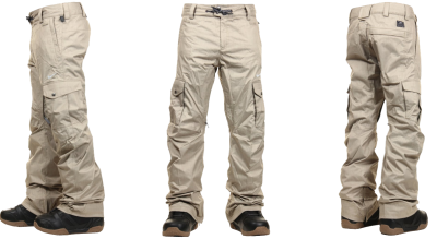 White, Linen, Cargo Pant Png Transparent Images   PNG Images