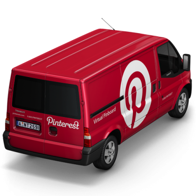 Pinterest Van Back Icon Png