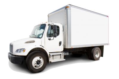 White Cargo Truck Png Transparent