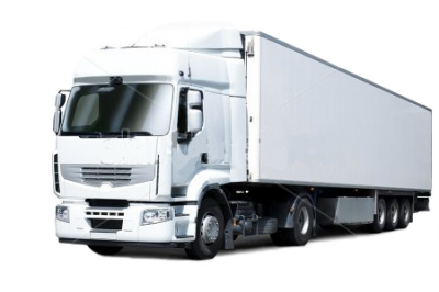 White Cargo Truck Transparent Images