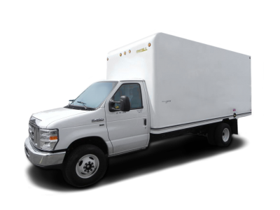 White Cargo Van Png PNG Images