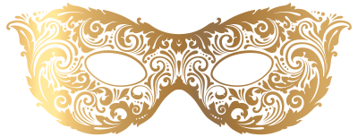Gold Carnival Mask Png Transparent Image   PNG Images